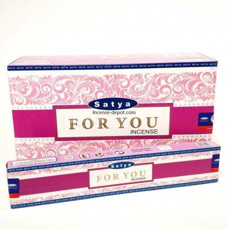 Satya - For You Incense Sticks