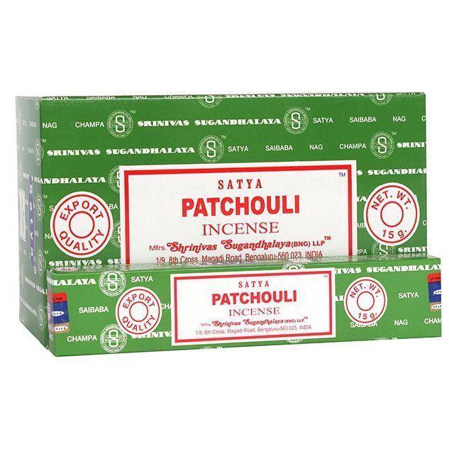 Satya - Patchouli Incense Sticks