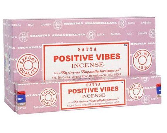 Satya - Positve Vibes Incense Sticks