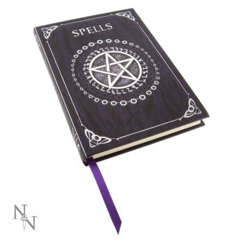 Embossed A5 Spell Journal Purple