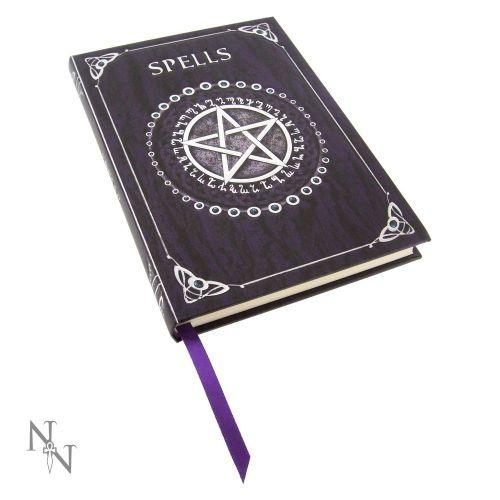 Embossed A5 Spell Journal Purple