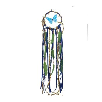 Butterfly Dreamcatcher - Blue
