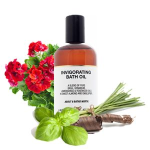 Bath Oil - Invigorating - 100ml