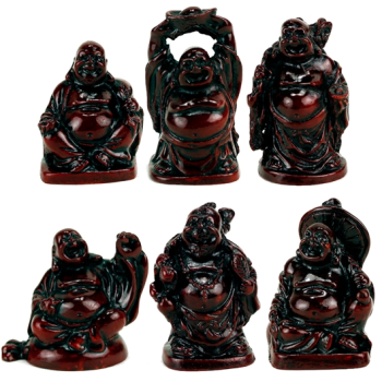 Minature Buddhas - Set of 6