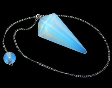 Faceted Pendulum - Opalite