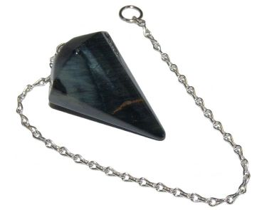 Faceted Pendulum - Blue Tigers Eye