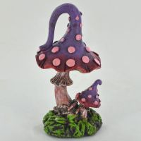 Coloured Toadstool - Purple & Red