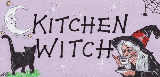 Witchy Sign - Kitchen Witch
