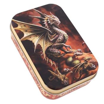 Age of Dragons Storage Tin - Desert Dragon