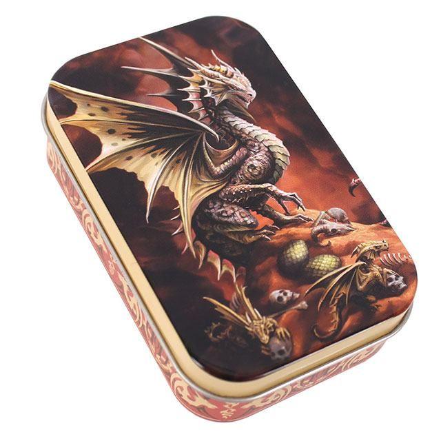 Age of Dragons Storage Tin - Desert Dragon