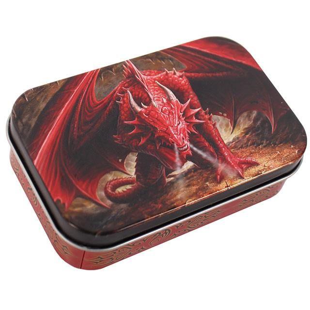 Dragons Lair Storage Tin - Anne Stokes