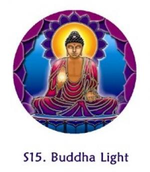 Window Sticker - Buddha Light