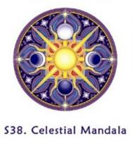Window Sticker - Celestial Mandala