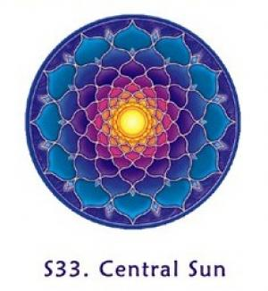 Window Sticker - Central Sun