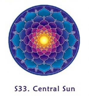 Window Sticker - Central Sun