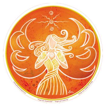 Window Sticker - Angel of Creativity