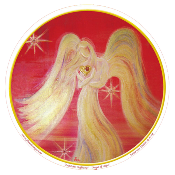 Window Sticker - Angel of Hope