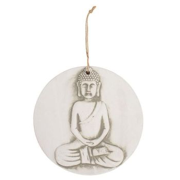 Buddha Plaque - Large