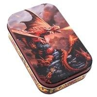 Age of Dragons Storage Tin - Fire Dragon