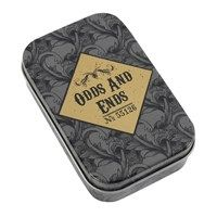 Odds and Ends Storage Tin