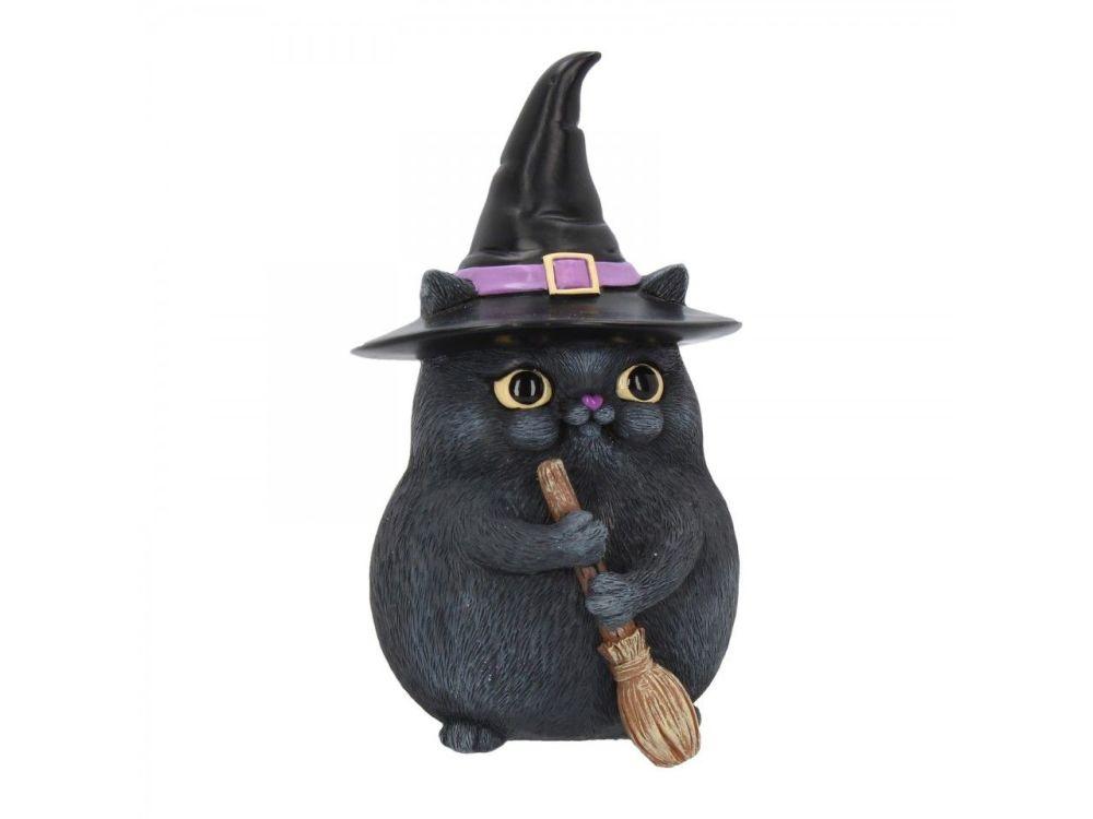 Lucky Black Cat 12cm