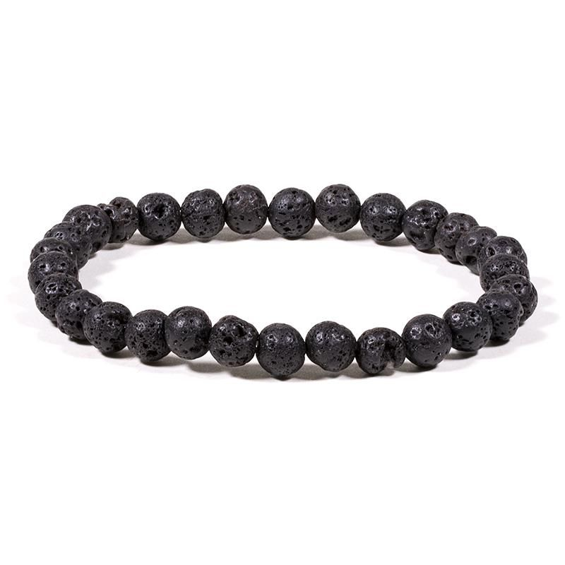 6mm Lava Rock Diffuser Bracelet