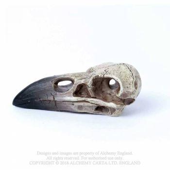 Miniature Reliquary Raven Skull