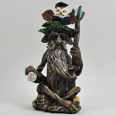 Tree entity (Large) with Scroll and Owl