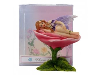 Flower Bed Fairy - Lilac 10cm