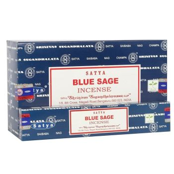 Satya - Sage, Blue Incense Sticks
