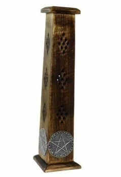 Wooden Incense Tower - Pentagram