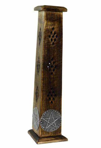 Wooden Incense Tower - Pentagram