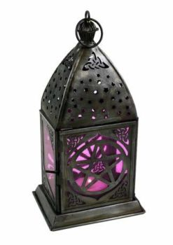Lantern Candle Holder - Pentagram
