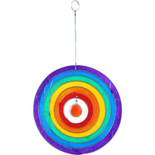 Circle Rainbow Suncatcher