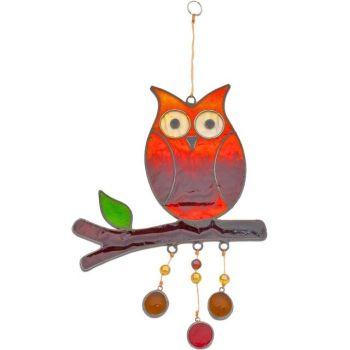 Owl Suncatcher