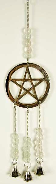 Pentacle Hanging Bells
