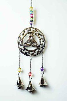 Triquetra Hanging Bells