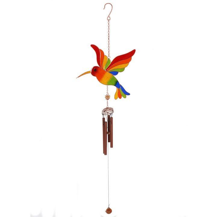 Rainbow Hummingbird Windchime