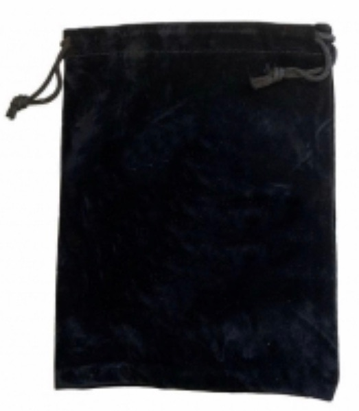 Tarot Bag - Black - 15cm x 20cm