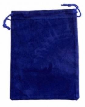 Tarot Bag - Plain Blue - 15cm x 20cm