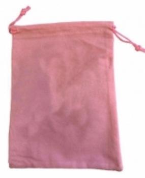 Tarot Bag - Plain Pink - 15cm x 20cm