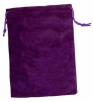 Tarot Bag - Plain Purple - 15cm x 20cm