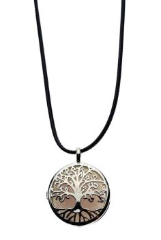 Rose Quartz Tree of Life Pendant Style 1