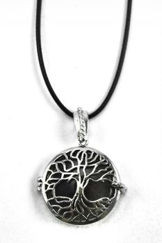 Amethyst Tree of Life Pendant Locket