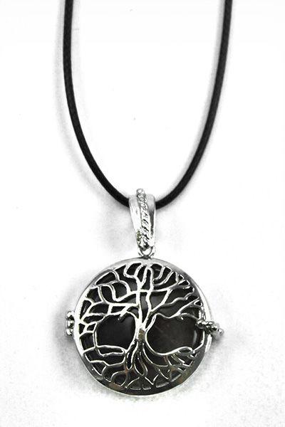 Amethyst Tree of Life Pendant Locket
