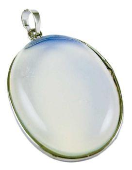 Opalite Moonstone Oval Pendant
