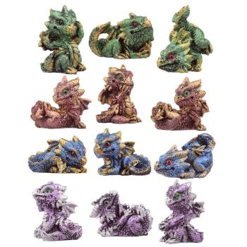 Crystal Baby Dragon World Figures