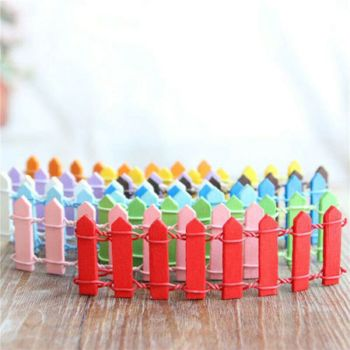 Fairy Picket Fence (x2) (choose colour)