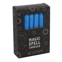 Solid Colour Spell Candles - Blue - Wisdom
