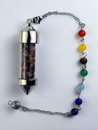 Pendulum Chip Bottle - Lapis Lazuli